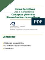 concurrencia SISTEMAS OPERATIVOS