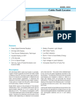3039-I - Cable Fault Locator