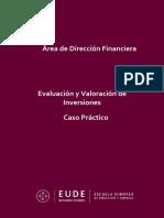 Caso práctico Evaluacion y seleccion de Inversiones _ Antonio Cueva Moreno