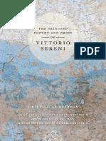 Vittorio Sereni - The Selected Poetry and Prose of Vittorio Sereni_ A Bilingual Edition (2006) - libgen.lc.pdf