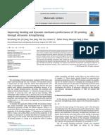 Improving bending and dynamic mechanics performance of 3D printing through ultrasonic strengthening.pdf
