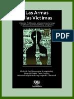 las armas y las victimas