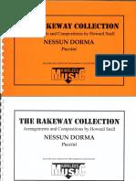 00_Puccini, Giacomo - Nessun Dorma I Howard Snell I Cornet Sib Solo_Conducteur.pdf