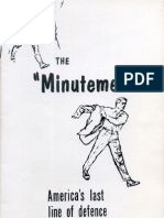 Minutemen Booklet