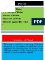 Plaint.pptx