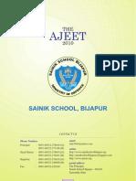 Sainik School Bijpur Ajit 2011 (172 Pages)