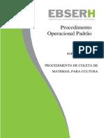 POP DE COLETA DE MATERIAL PARA CULTURA