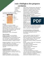 Princípios gerais e biológicos dos preparos cavitários