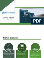 Industry overview - Davis Industries