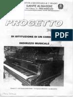 Progetto Corso indirizzo musicale