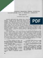 Š. Batović - Odnosi jadranskog primorja prema području jugoistočnih Alpa u neolitu i eneolitu