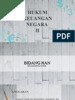 Hukum Keuangan Negara II