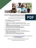 Job Advert - 24.09.2020