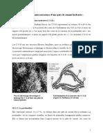 2 Description de la microstructure d'une pâte de ciment hydratée