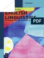 English Linguistics A Coursebook for Students of English