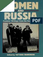 Tatyana Mamonova - Women and Russia. feminist writings from the Soviet Union.pdf