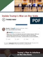 Trump's War on the Vote