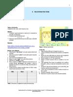 Guía Laboratorio  #6. Ondas, velocidad de Fase