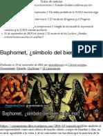 Baphomet, ¿símbolo del bien o del mal?