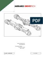 Manual DESARME DIFERENCIAL Carraro 26.27m[001-082].It.es