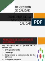 PRINCIPIOS DE CALIDAD APLICADO AL PROYECTO