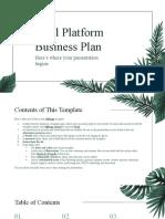 Pical Platform Business Plan by Slidesgo