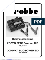 ROBBE POWER PEAK 8487 manual
