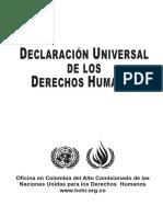 DECLARACION UNIVERSAL DE LOS DERECHOS HUMANOS 1948