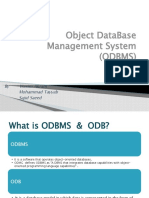 Assignment Object DataBase