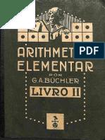 LIVRO ANTIGO – Arithmetica elementar – livro 2 – 1923_G. A. Büchler