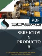 CATÁLOGO SERVICIOS Y PRODUCTOS