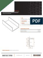 canales-estructurales-deacero-ficha-tecnica