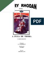 P-022 - A Fuga de Thora - Clark Darlton