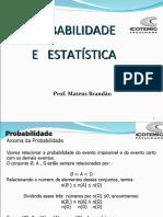 Aula 5.1-Probabilidade - II