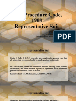 CPC - Representative Suit