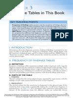 3- Usando las tablas en este libro