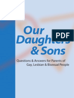 Our Daughters and Sons:Questions and Answers for Parents of Gay, Lesbian and Bisexual People
