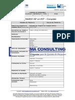 2-FGPR_070_06 - Diccionario de la EDT - Completo
