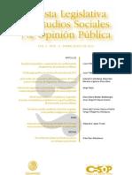 ¿Qué miden las encuestas sobre corrupción en AL_ Revista-Legislativa-Vol6-Num11