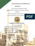Proyecto Metanol y Derivados PDF