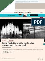 Yuval Noah Harari the world after coronavirus  Free to read  Financial Times.pdf
