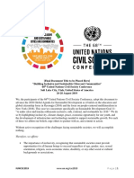 68th United Nations Civil Society Conference Outcome Document -conference_outcome_document_-_1st_draft