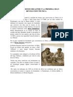 Tema VI. Homo Ergaster y la 1º gran revolución técnica