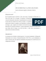 FISICA DEL TROMPO Y LEY DE BERNOULLI