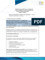 Guia de actividades y Rúbrica de evaluación - Unidad 2 - Tarea 2 - Rediseñar estaciones de trabajo.docx