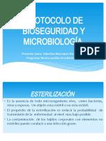 PROTOCOLO DE BIOSEGURIDAD Y MICROBIOLOGÍA