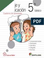 5 Lenguaje Comunicacion - Cuaderno de Actividades