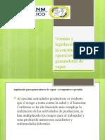Normas y legislaciones para la construcción y operación unidad 1