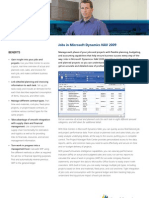 Jobs in Microsoft Dynamics NAV 2009
