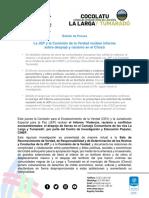Boletín de Prensa Informe COCOLATU JEP CEV